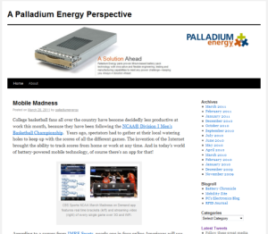 Palladium Energy Blog