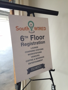 SouthWiRED sign